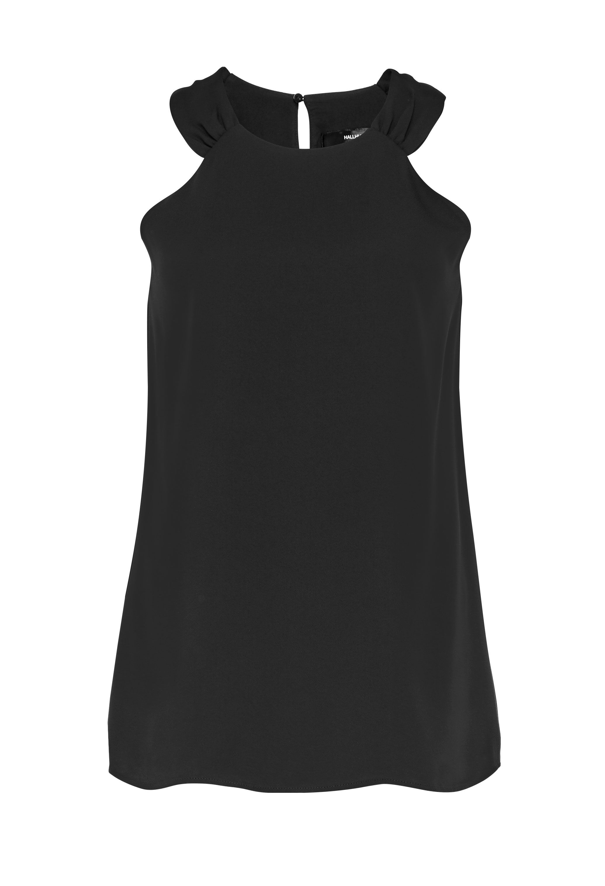 Hallhuber A-Line Top, Black