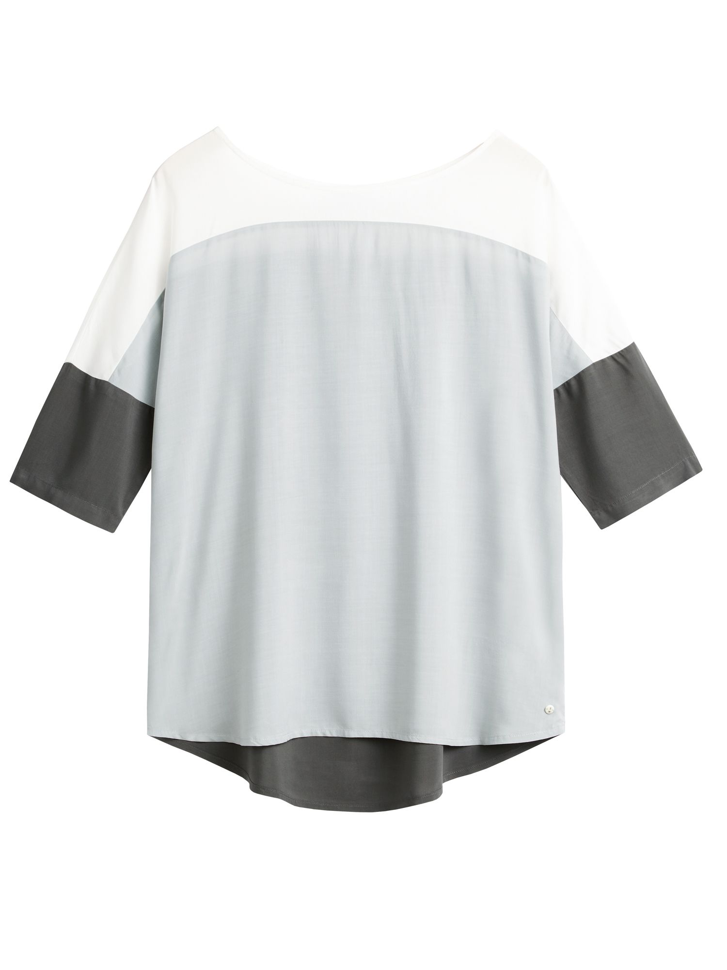 Sandwich Colour block top, Grey