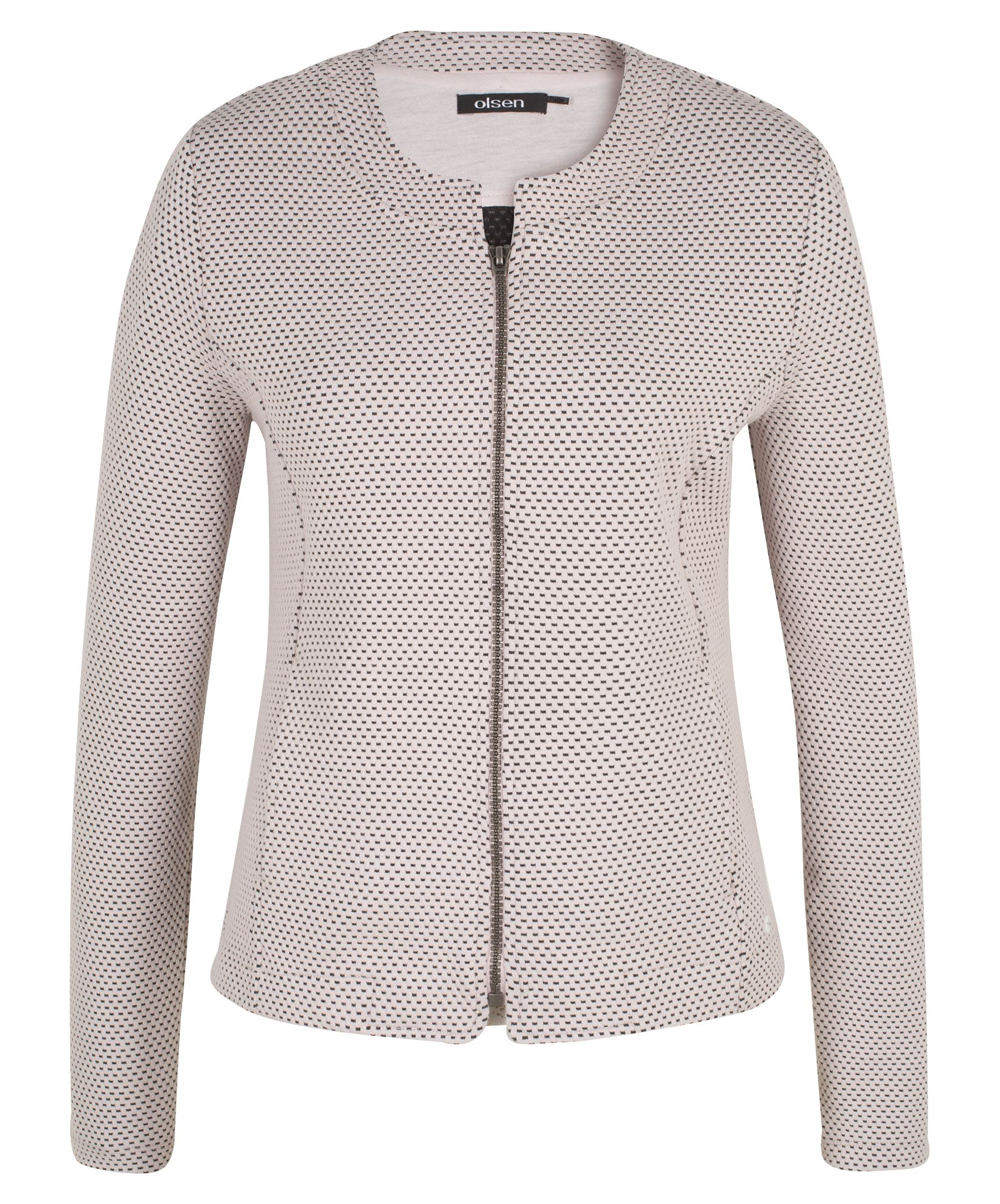Olsen Indoor Jacket 3D Optic, White