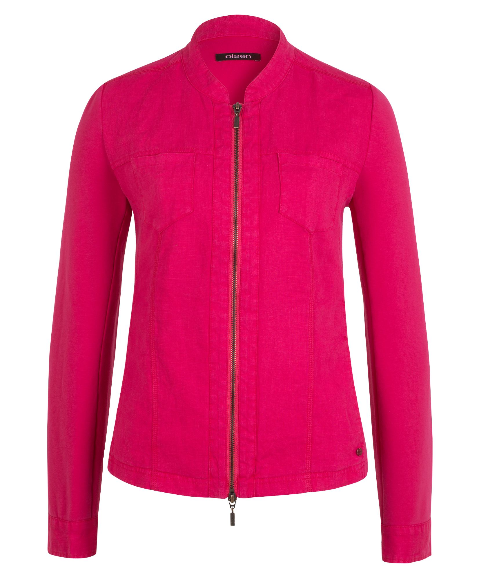 Olsen Sweat Jacket - Tropic Pink, Pink