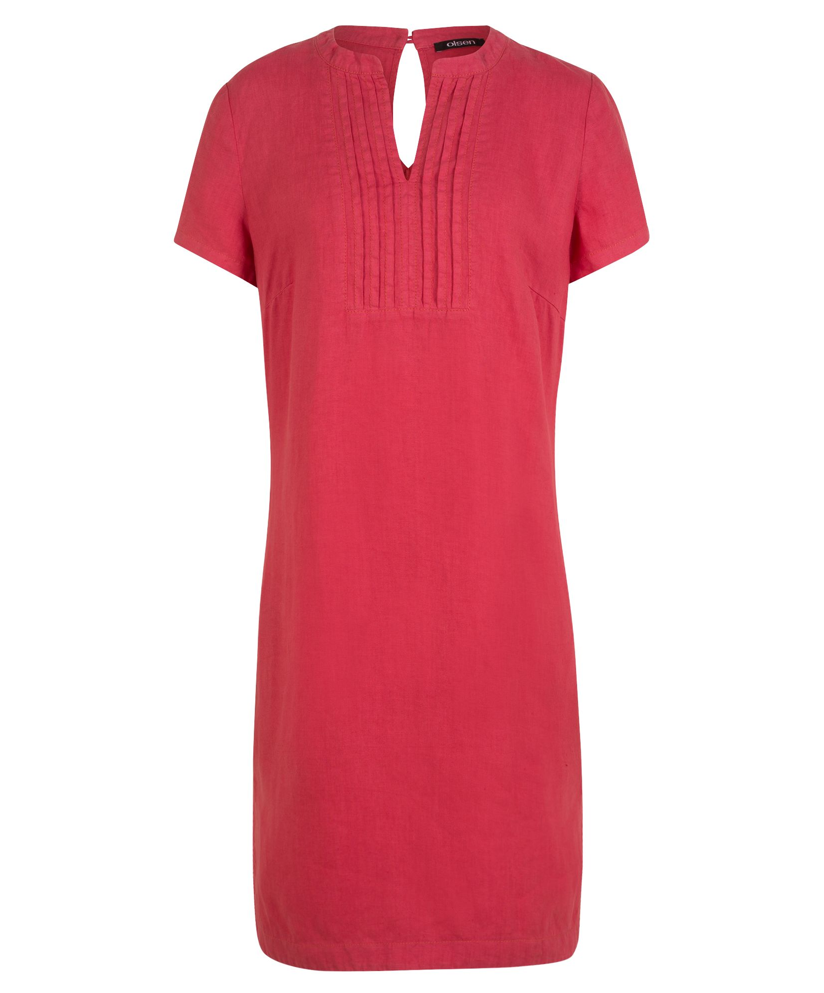 Olsen Dress Woven Short, Red