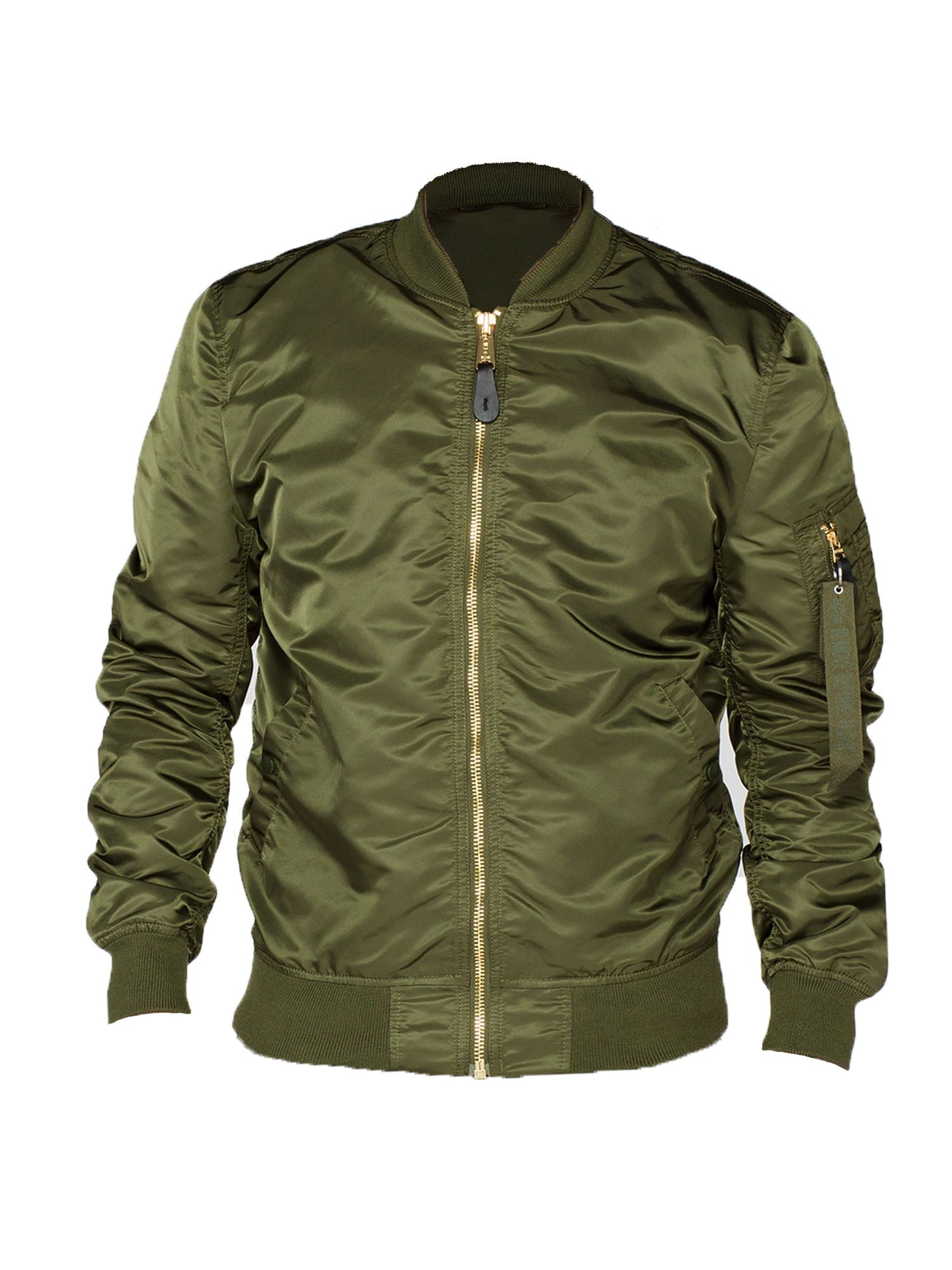 Alpha Industries Men's Alpha Industries Ma-1 vf lw jacket, Dark Green