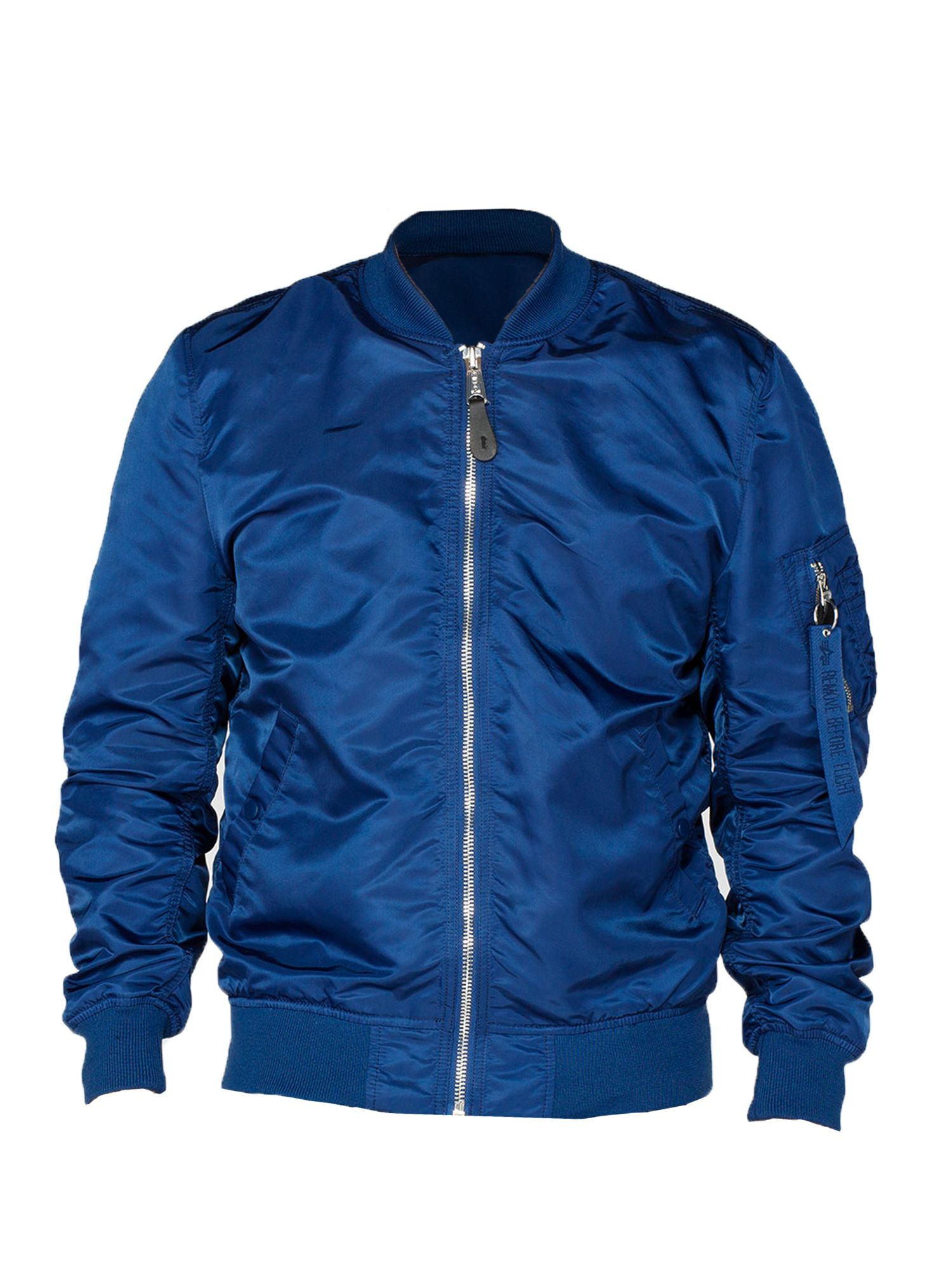 Alpha Industries Men's Alpha Industries Ma-1 vf lw jacket, Ocean