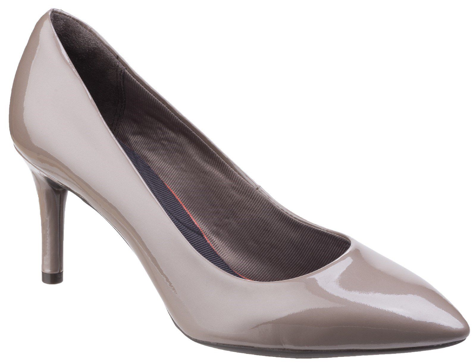 Rockport Total Motion Pointy Toe Pump, Grey