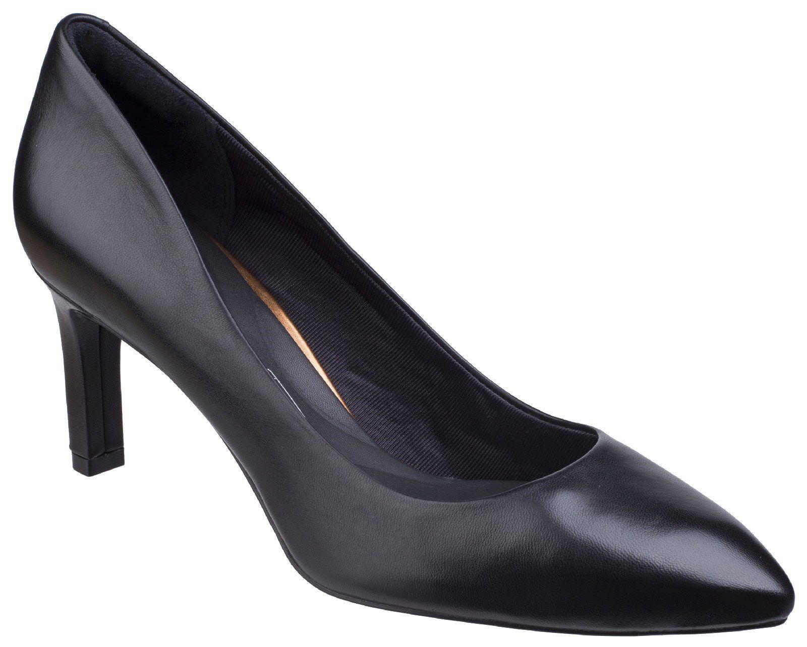 Rockport Total Motion Valerie Pump, Black Leather