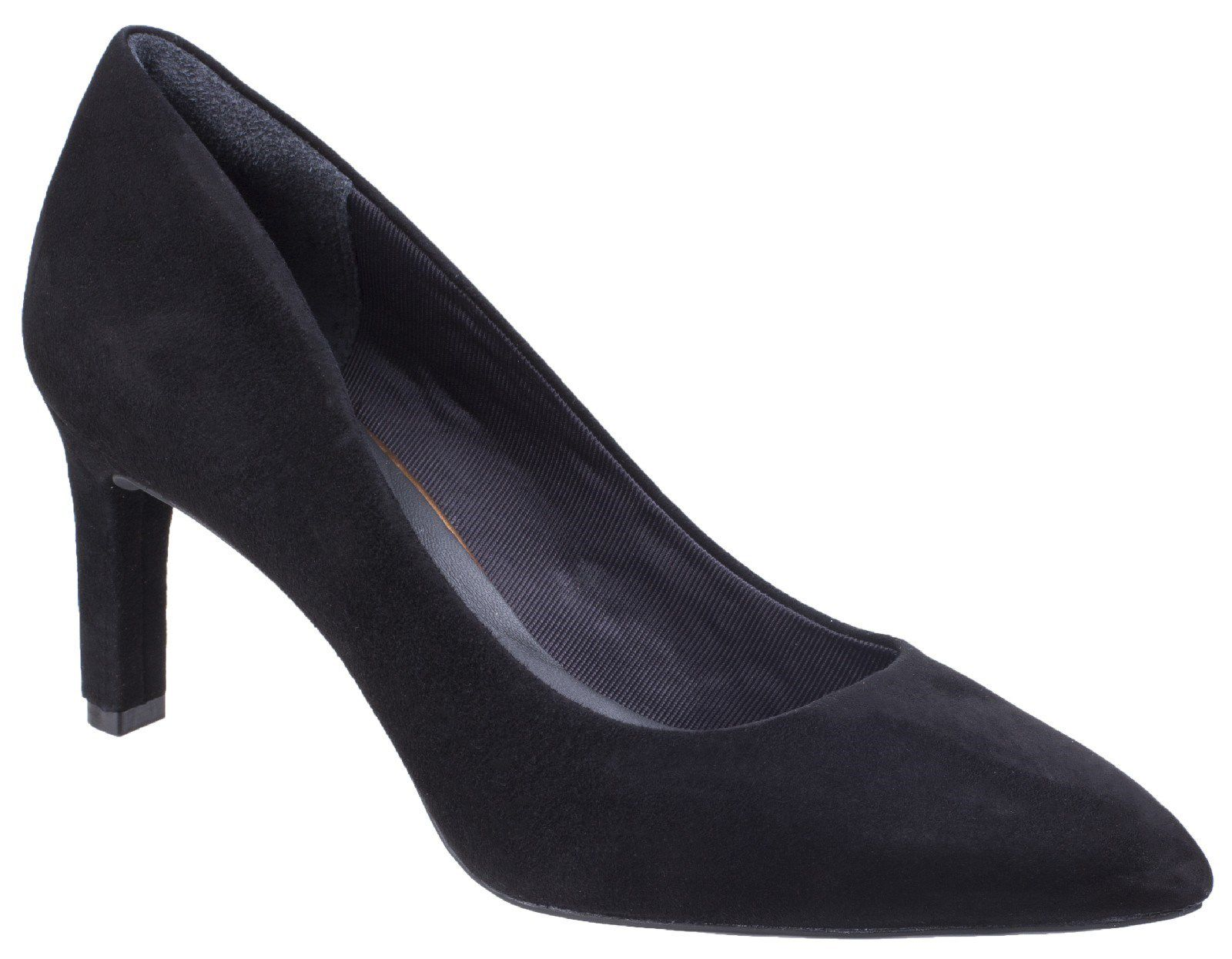Rockport Total Motion Valerie Pump, Black Suede