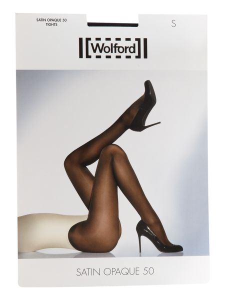 Wolford Satin opaque 50 denier tights