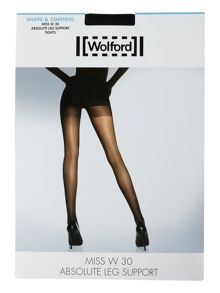 Wolford Miss W absolute leg support 30 denier tights