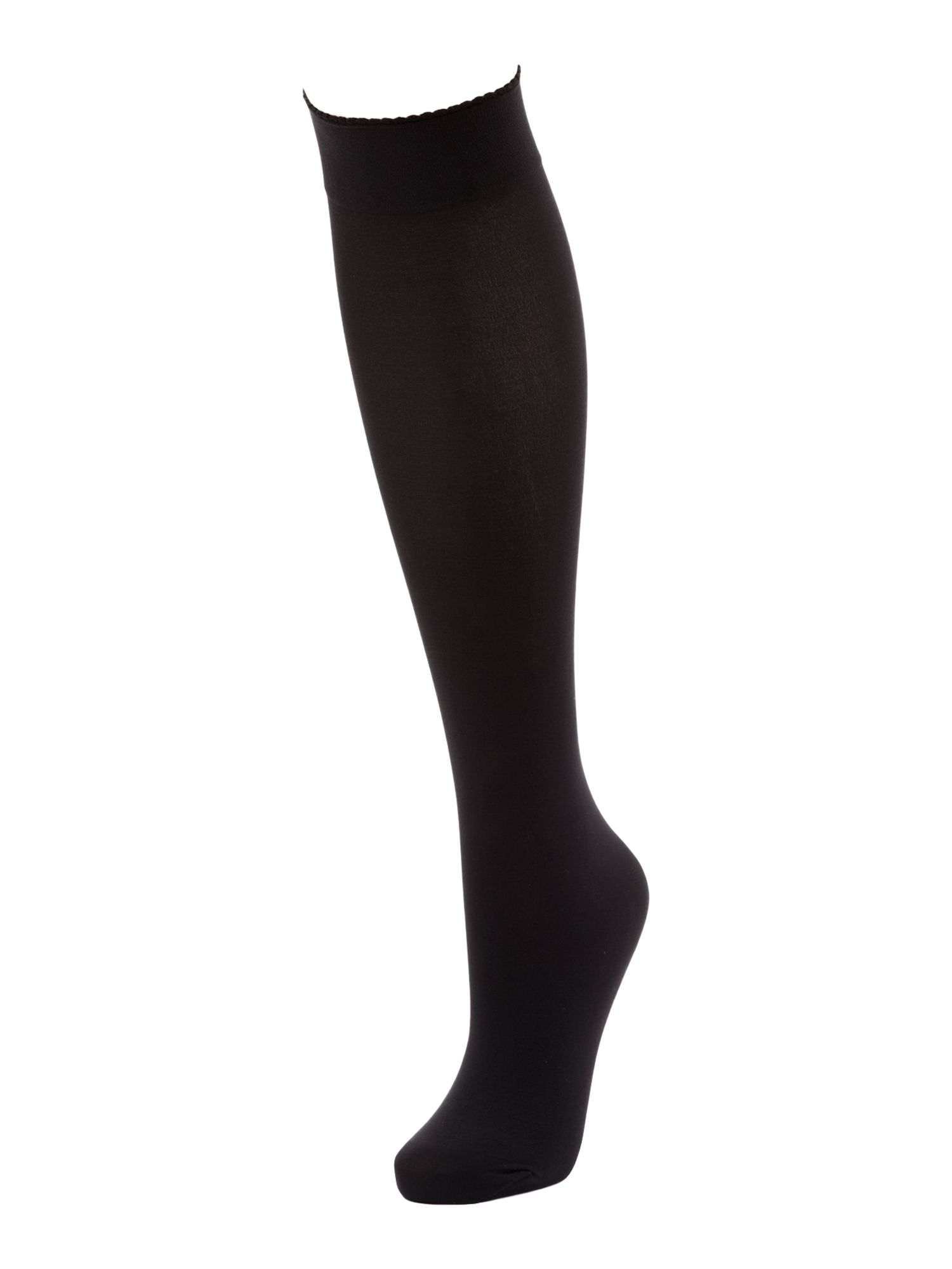 Velvet 50 denier knee highs