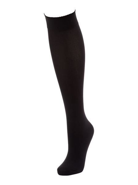 Wolford Velvet de luxe 50 denier knee high socks