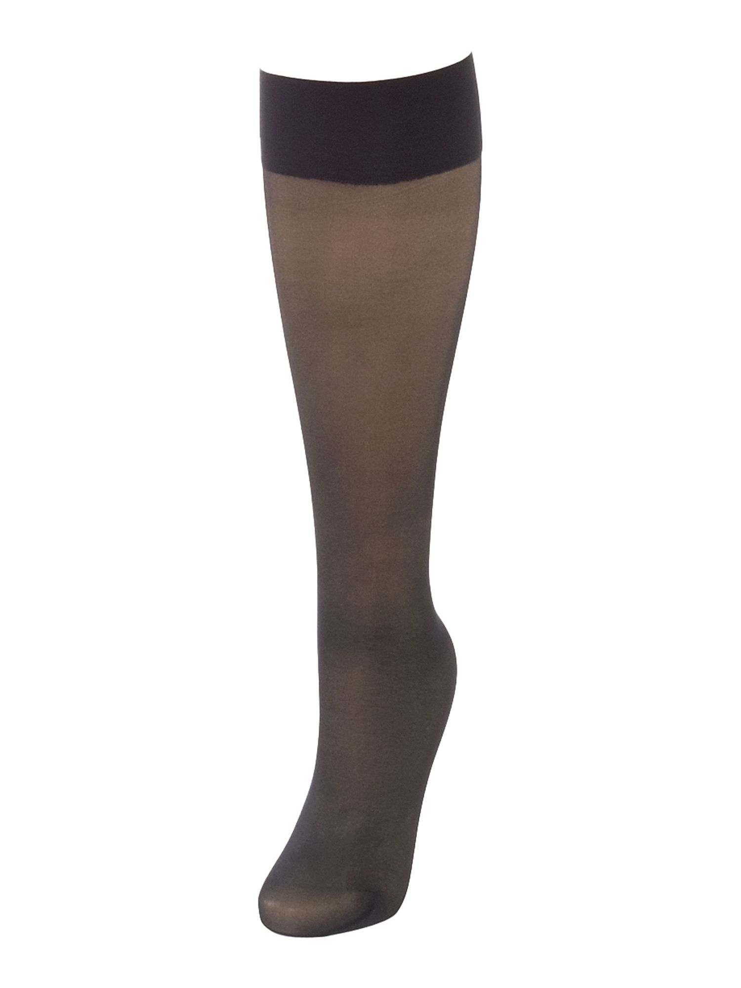 Wolford Satin touch 20 denier knee high socks Black