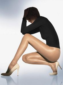 Wolford 20 Denier satin touch tights
