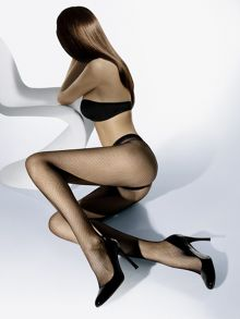 Wolford Twenties net tights