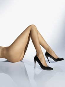 Wolford 8 Denier naked tights