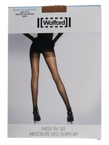 Wolford Miss W 30 denier leg support tight