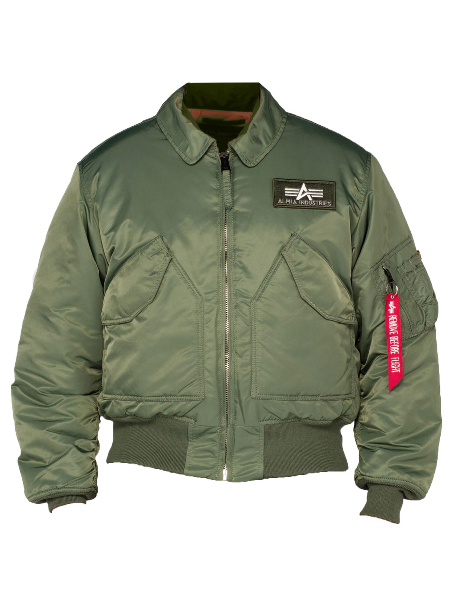 Alpha Industries Men's Alpha Industries CWU 45 Jacket, Sage