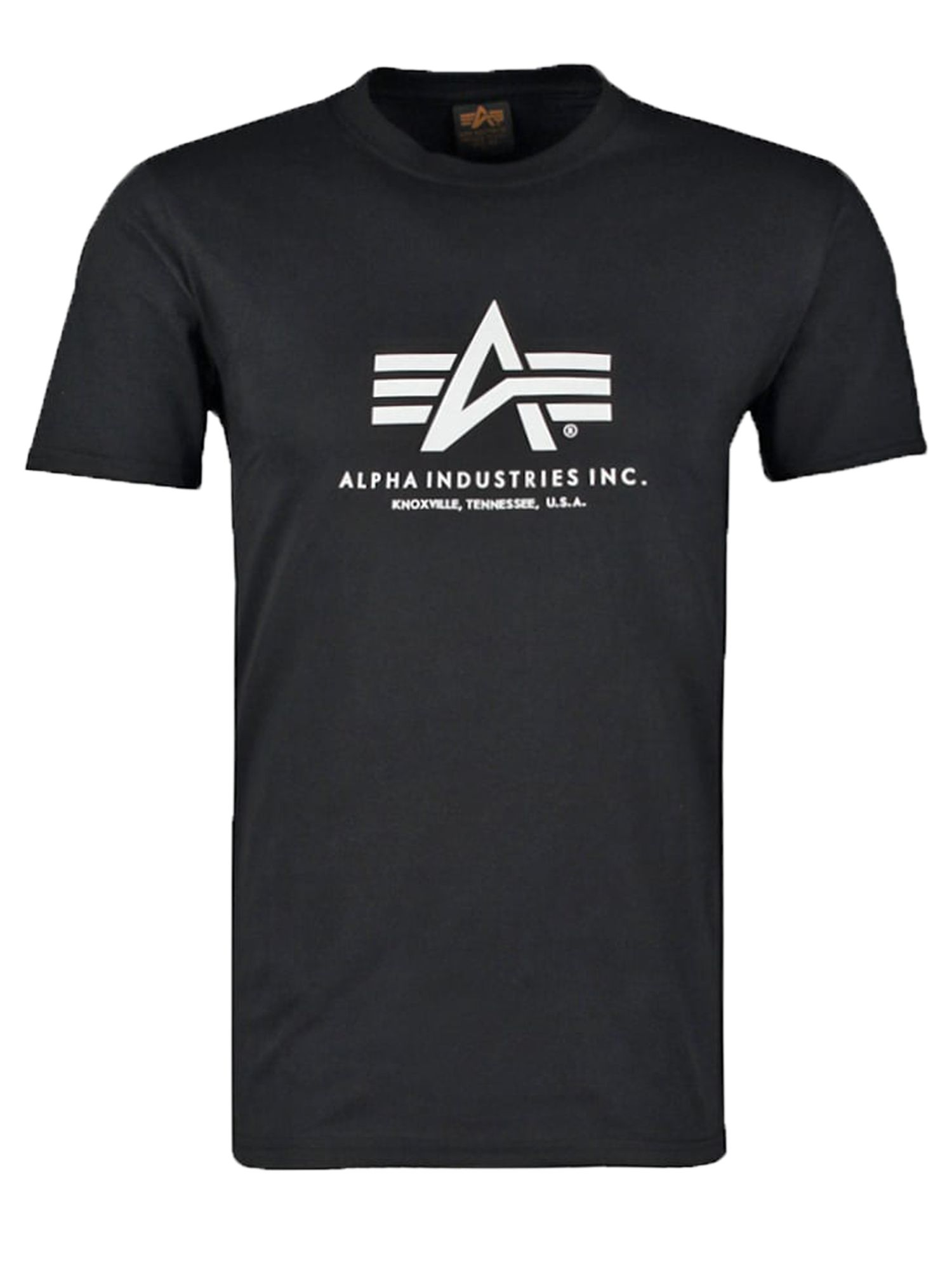 Alpha Industries Men's Alpha Industries Alpha Logo T-Shirt, Black