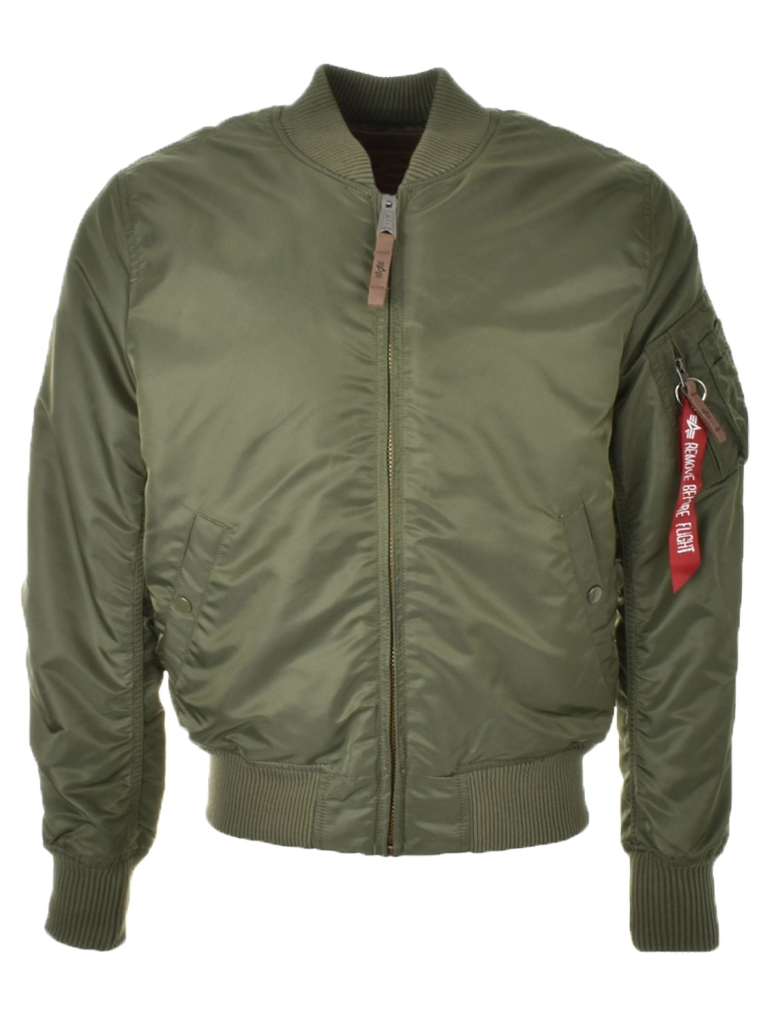 Alpha Industries Men's Alpha Industries MA-1 VF59 Coat, Green