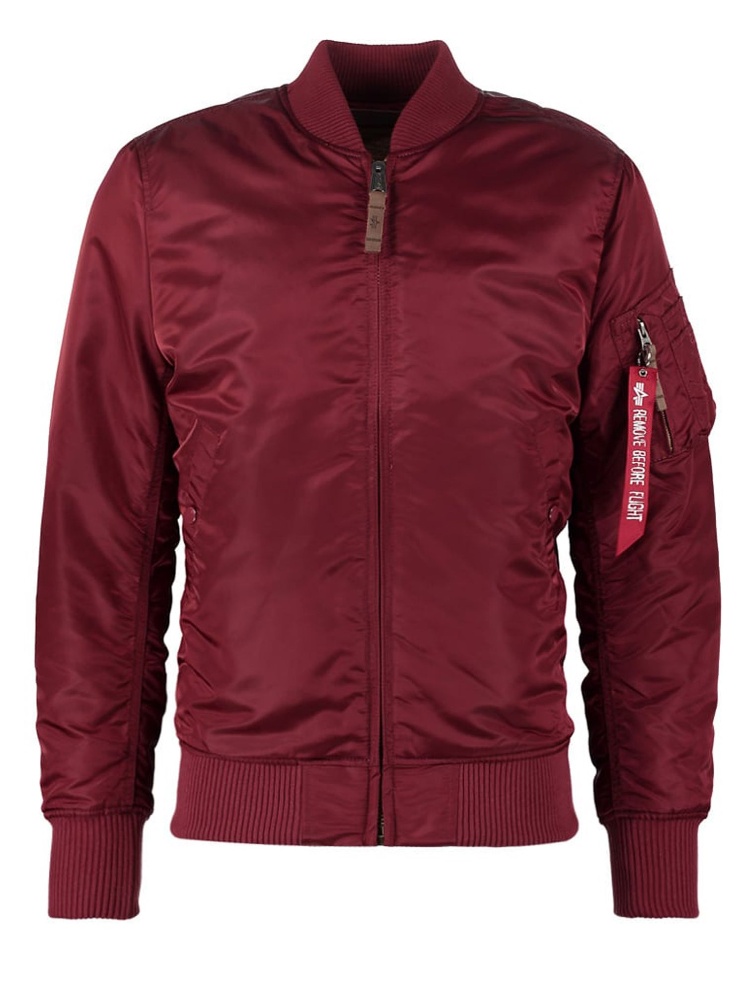 Alpha Industries Men's Alpha Industries MA-1 VF59 Coat, Red