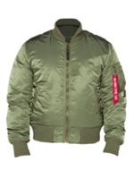 Alpha Industries Ma-1 reversible camo bomber jacket