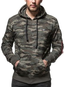 Alpha Industries X Fit Hoody