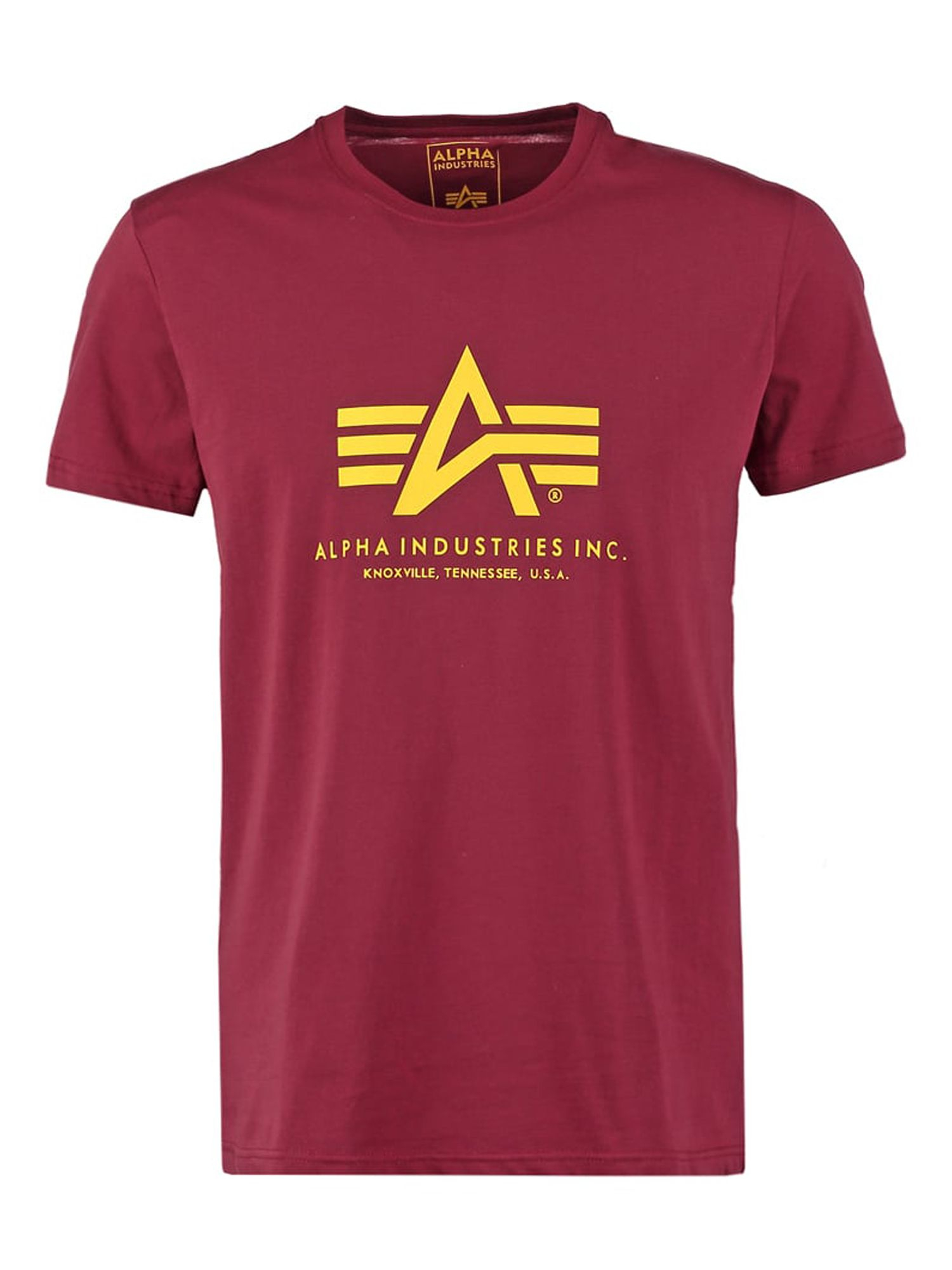 Alpha Industries Men's Alpha Industries Alpha Logo T-Shirt, Red