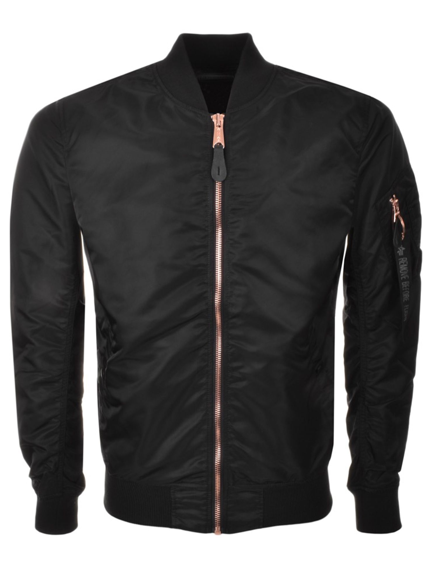 Alpha Industries Men's Alpha Industries Ma-1 vf lw jacket, Black