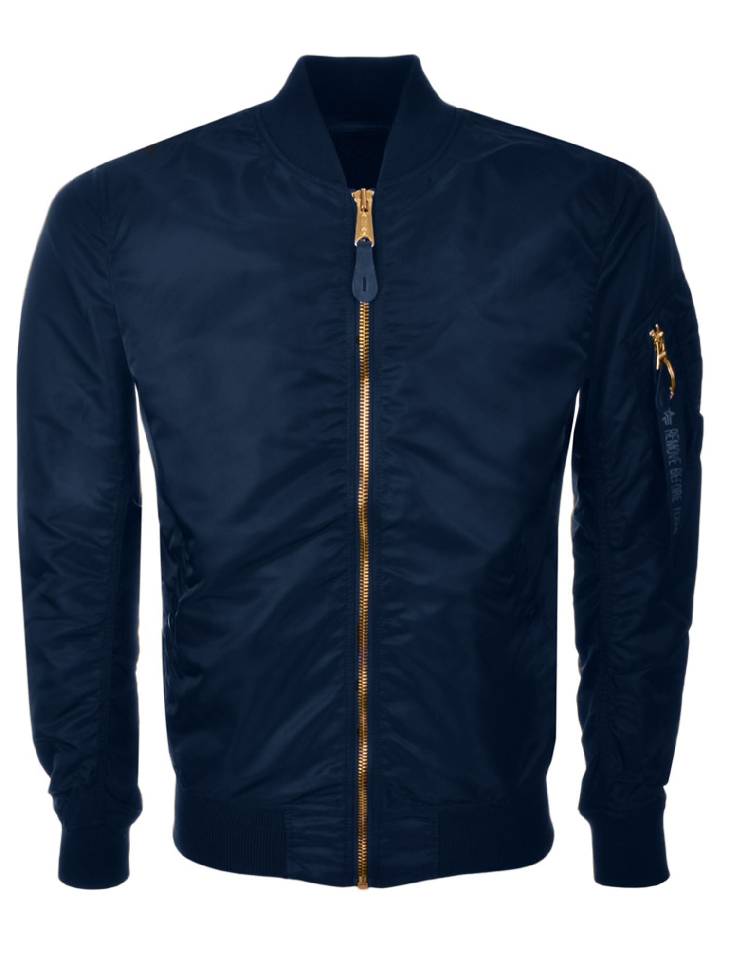 Alpha Industries Men's Alpha Industries Ma-1 vf lw jacket, Navy