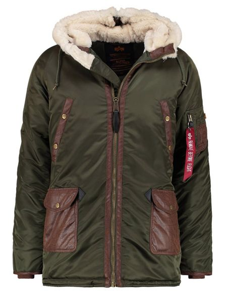Alpha Industries N3 B3 Coat