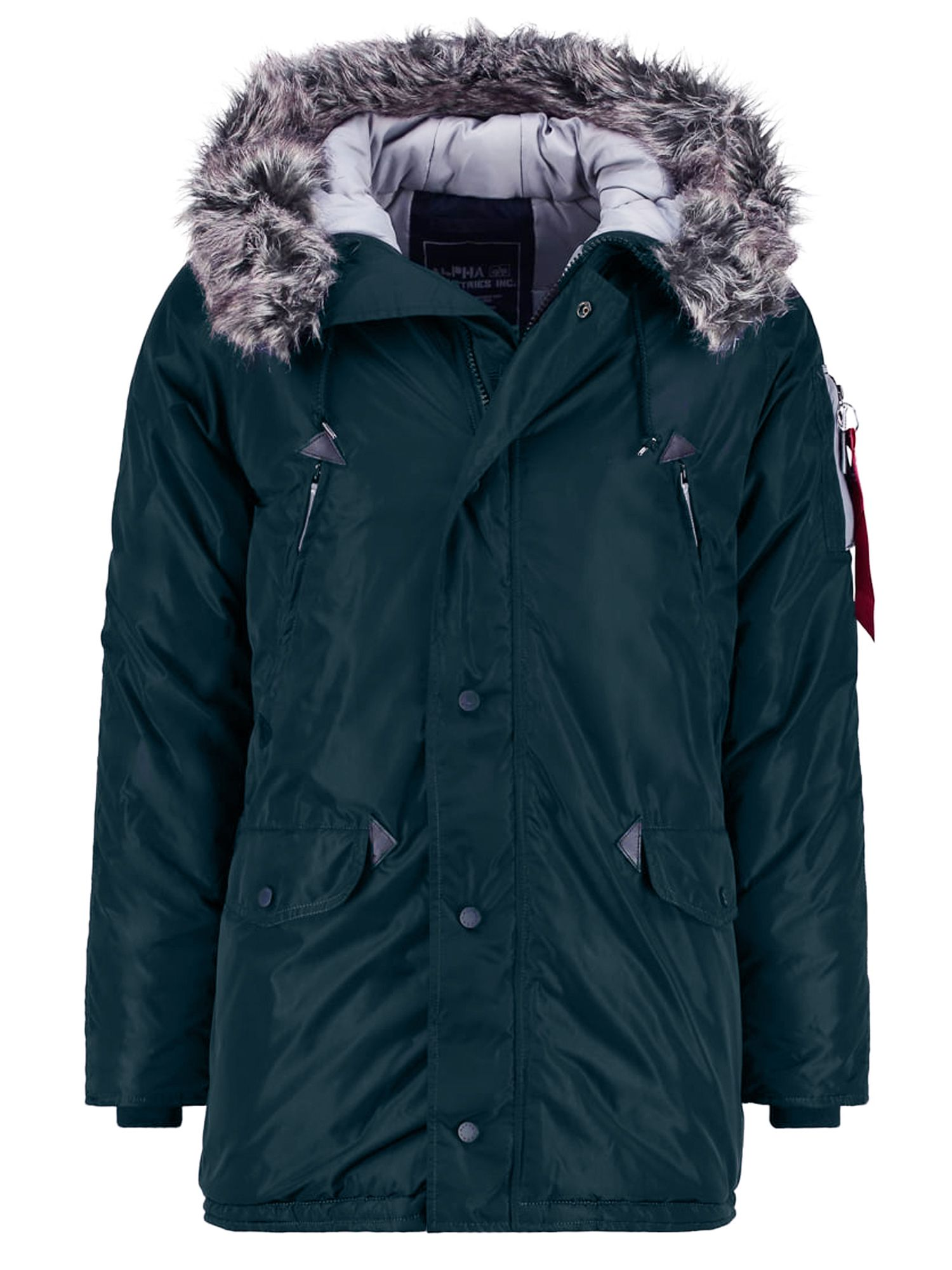 Alpha Industries Men's Alpha Industries N3 B R Coat, Green