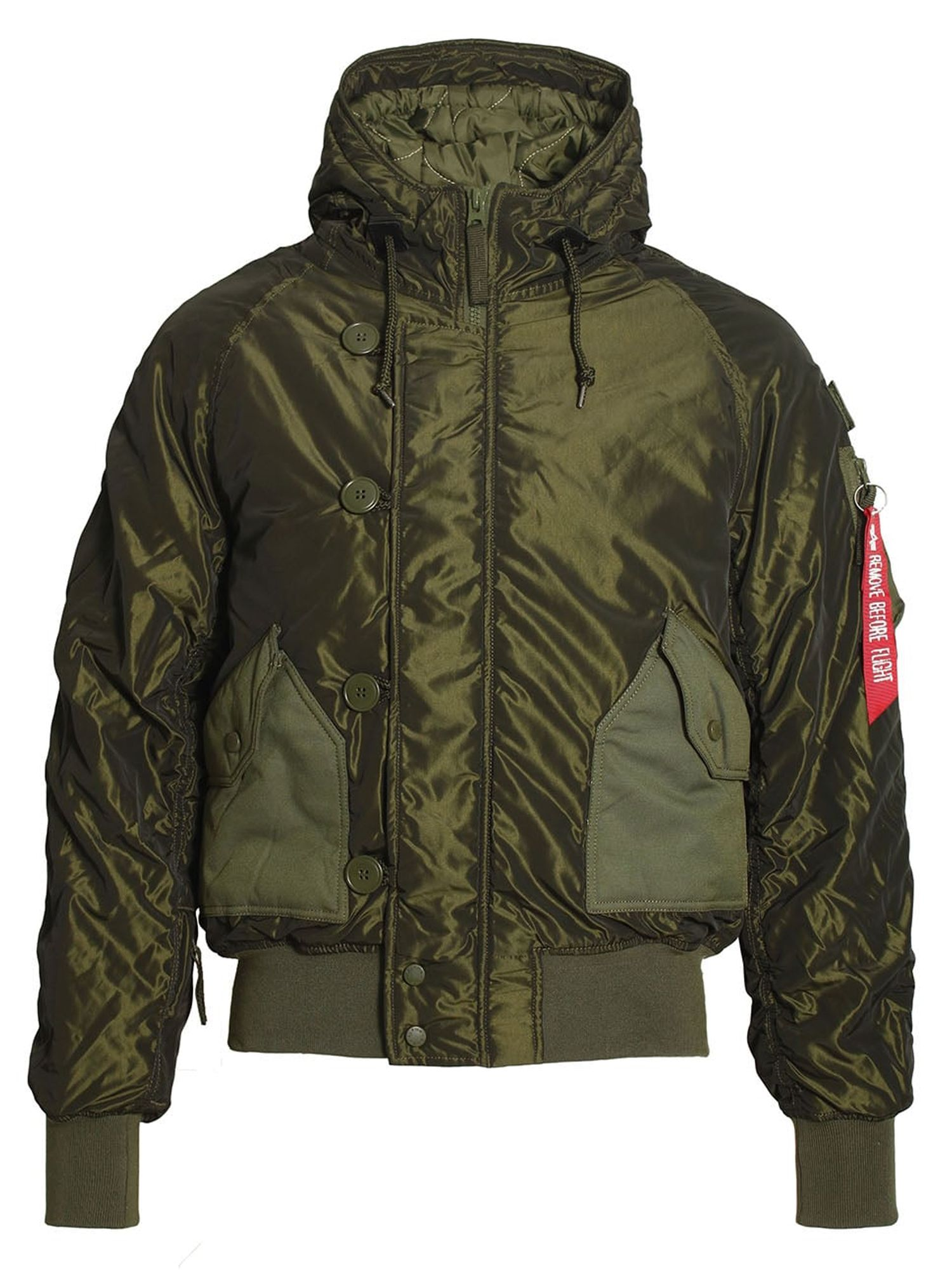 Alpha Industries Men's Alpha Industries Hunter Coat, Dark Green