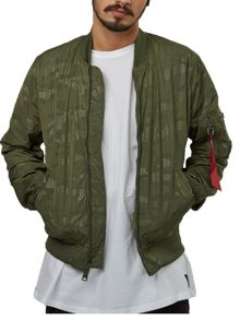 Alpha Industries Ma-1 hidden camo bomber jacket