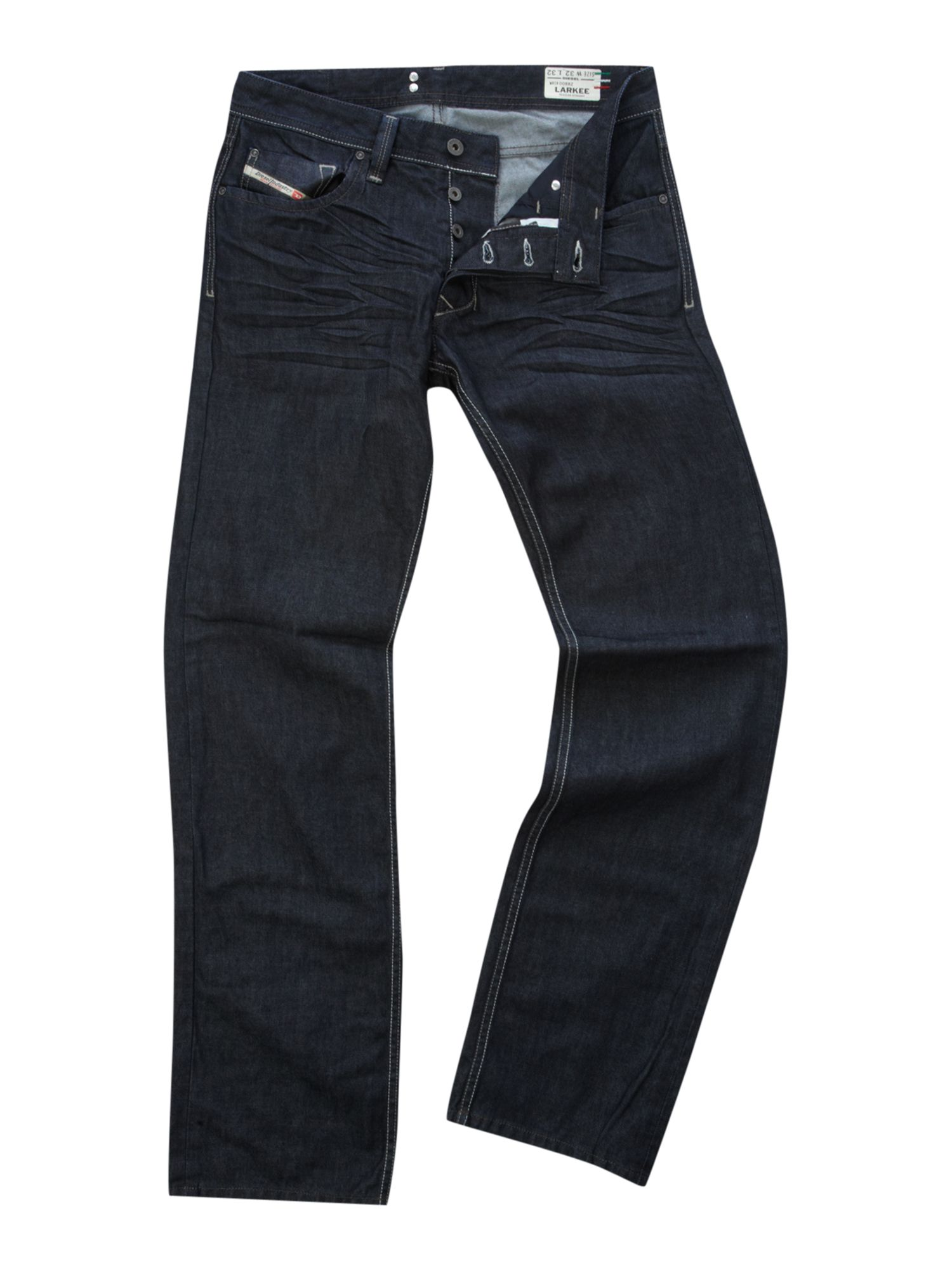 Larkee 88Z Straight Dark Wash Jeans
