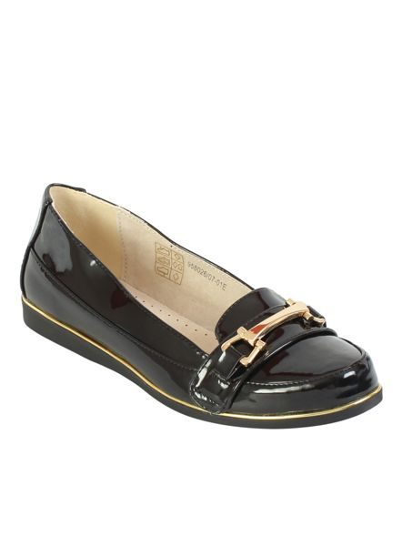Betsy Patent loafer