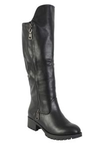 Betsy Chunky knee-high boot