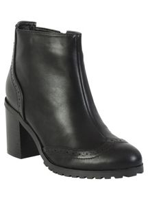Betsy Heeled brogue boot
