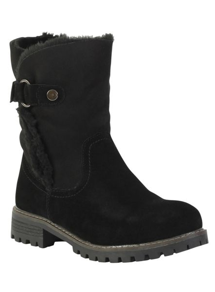 Betsy Suede ankle boot