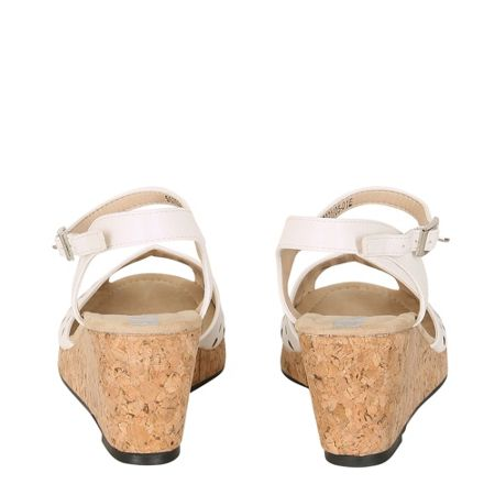 Betsy Peep Toe Cut Out Wedge