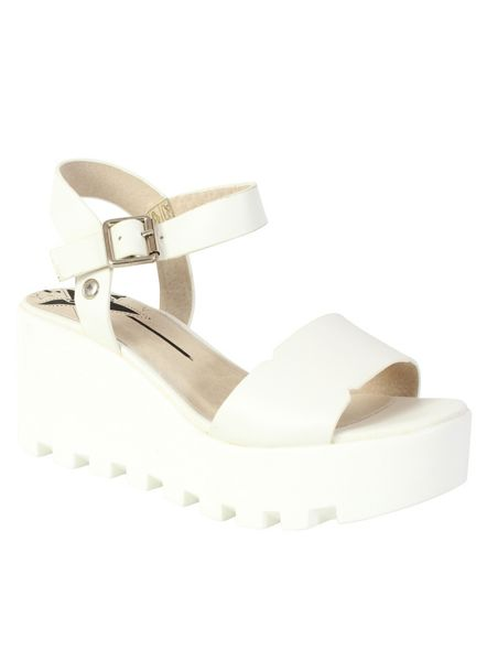 Betsy Cleated platform wedge sandal