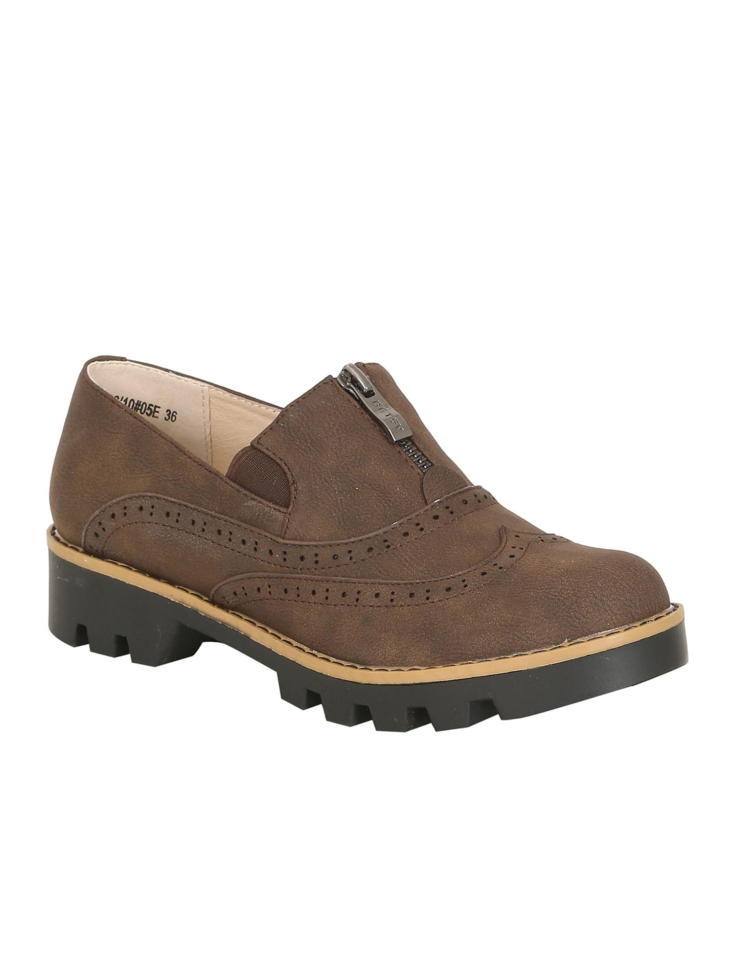 Betsy Betsy Chunky brogue, Brown