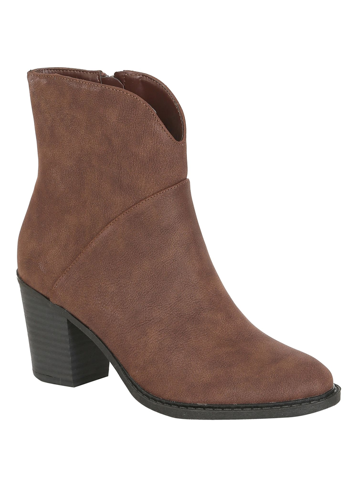 Betsy Betsy Heeled ankle boot, Brown