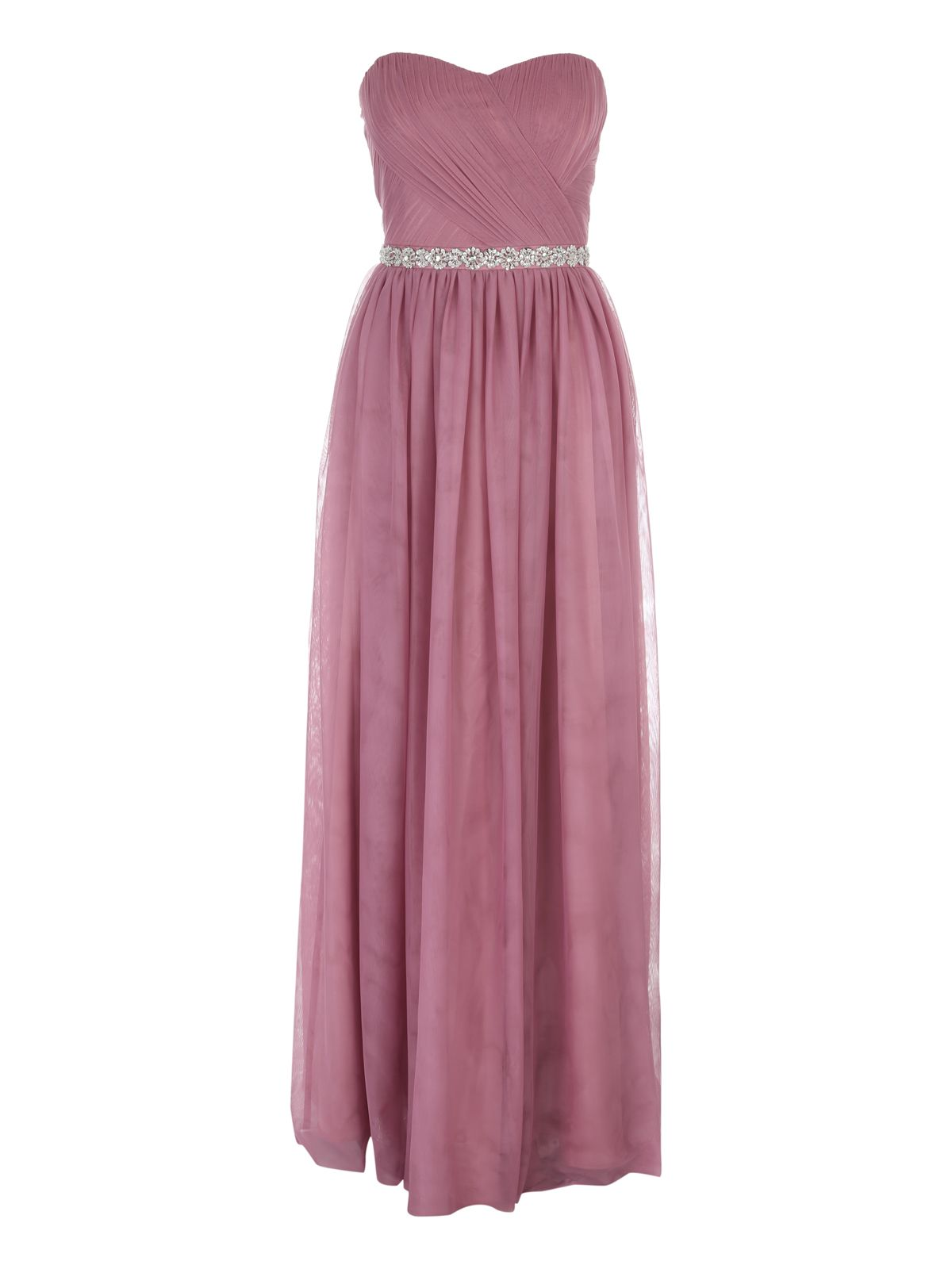 Jane Norman Pink Prom Maxi Dress, Pink