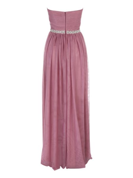 Jane Norman Pink Prom Maxi Dress