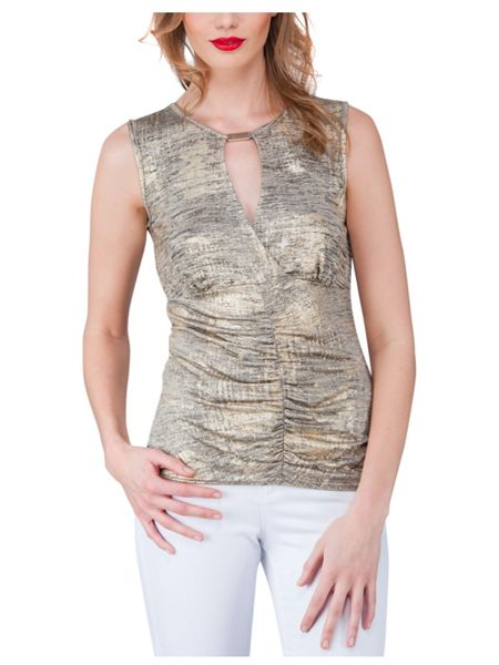 Jane Norman Ruched Top