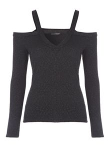 Jane Norman Glitter Texture Top