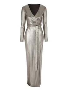 Jane Norman Maxi Wrap Dress