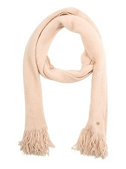 Pink Brushed Scarf