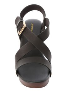 Jane Norman Clog Heeled Sandal