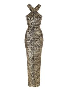 Jane Norman Bandage Maxi Dress