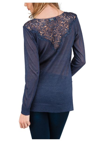 Jane Norman Lace Trim Jumper